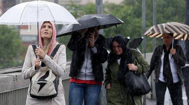 Meteorolojiden uyarı: Sıcaklıklar düşüyor, çok sayıda ilde yağış var