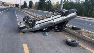 Tercan'da trafik kazası